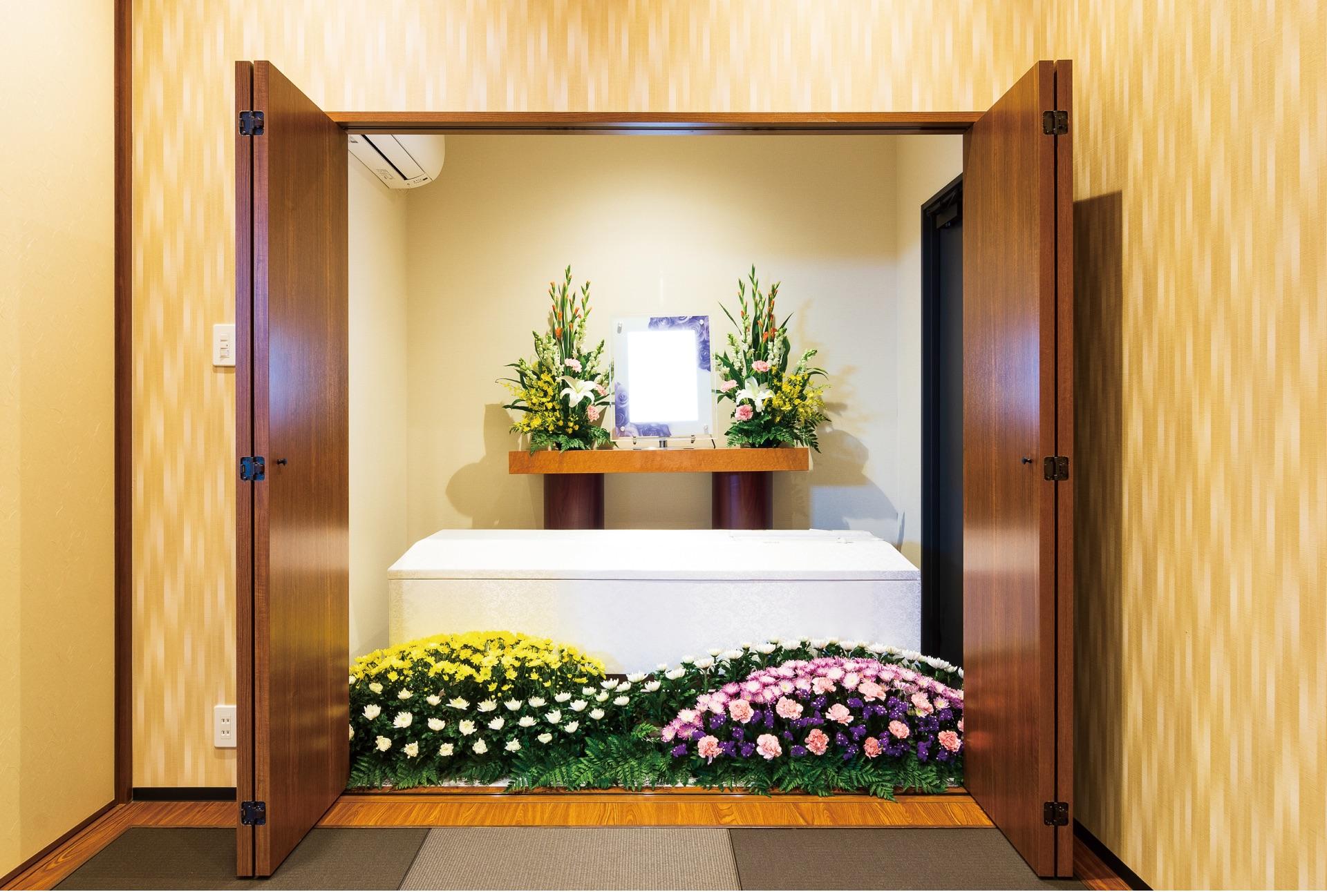 リビング葬 花プラン45の写真